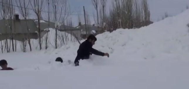 Снег в Турции выпал