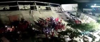 обрушение отеля в Китае