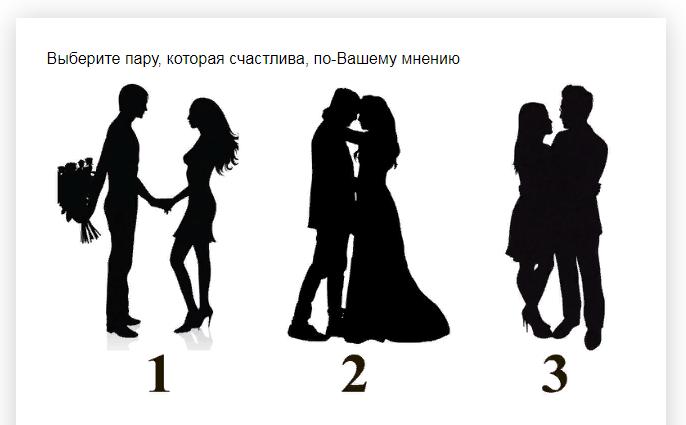 Ответы на психологический тест, который расскажет какой Вы в любви