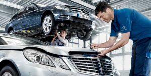 Техническое обслуживание Mercedes Benz